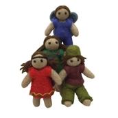 Family of Felt Elves