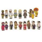 Wooden Children Around the World
