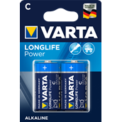 Battery Alkaline Manganese Size C - pack of 2