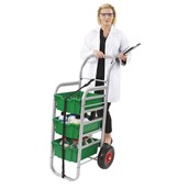 Gratnells Rover with Deep Trays Green