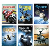 Non-Fiction Action Book Pack - Pack of 6