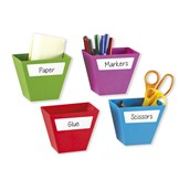Create-a-Space Magnetic Storage Pots