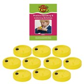 Talking Tins 20 seconds- Pack of 10 Tins and Activity Guide