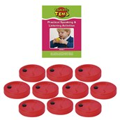 Talking Tins 40 seconds - Pack of 10 Tins and Activity Guide