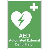 AED Location Sign