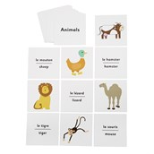 French Flash Cards - Animals