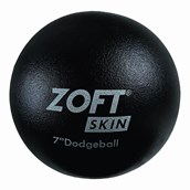 Zoftskin Dodgeball - Black - 7in