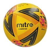 Mitre Ultimatch Plus Football - Yellow/Orange/Pink - Size 4