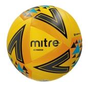 Mitre Ultimatch Football - Yellow/Orange/Blue - Size 4