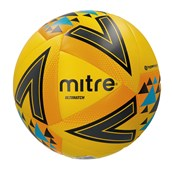 Mitre Ultimatch Football - Yellow/Orange/Blue - Size 5