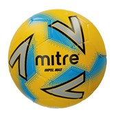 Mitre Impel Max Football - Yellow/Silver/Blue - Size 5