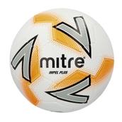 Mitre Impel Plus Football - White/Silver/Orange - Size 4