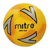 Mitre Impel Plus Football - Yellow/Silver/Orange - Size 3