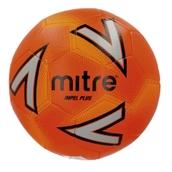 Mitre Impel Plus Football - Orange/Silver/Orange - Size 4