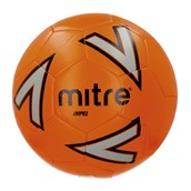 Mitre Impel Football - Orange/Silver/Black - Size 4