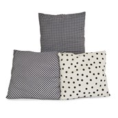 Black and White Ultra Soft Cushions from Hope Education