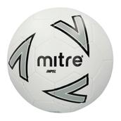 Mitre Impel Midi Football - White/Silver/Black - Size 2