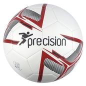 Precision Fusion Football - White/Red - Size 4