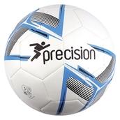 Precision Fusion Football - White/Blue/Black - Size 4