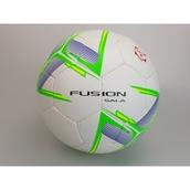 Precision Fusion Sala Futsal Football - White/Green/Yellow - Size 4