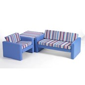 Stripey Sofa Set