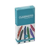 Classmates Erasable Rollerball Pen - Assorted - Pack of 12