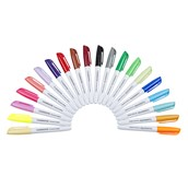 Classmates Permanent Marker Assorted - Pack of 20
