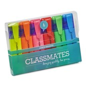 Classmates Highlighter Assorted - Pack of 6