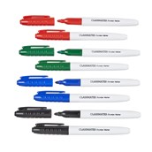 Classmates Dry-wipe Marker Pens, Assorted - Pack of 144
