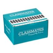 Classmates Whiteboard Marker Pens Black, Bullet Tip - Pack of 100