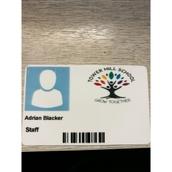 Plastic Staff Badges