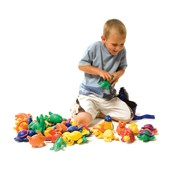 Animal Beanbag Menagerie - Assorted - Pack of 38