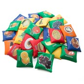 Nutrition Beanbags - Assorted - Pack of 34