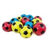 Soccer Play Balls - Assorted - Pack of 12