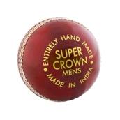 Readers Super Crown Cricket Ball - Red - Junior(4.75oz)