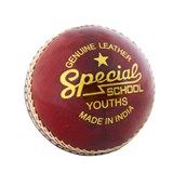 Readers Special School Cricket Ball - Red - Youth(4.75oz)