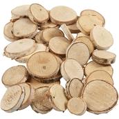 Circular Wood Cuts - Pack of 140