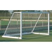 Harrod Sport 3G Portagoal - White - 16 x 7ft - Pair