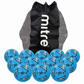 Mitre Impel Football - Blue/Silver/Black - Size 3 - Pack of 12