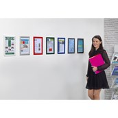 A4 Poster Display Case - pack of 5