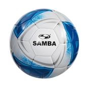 Samba Education Football - White/Blue/Silver - Size 5