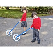 Trundle Wheel with Counter