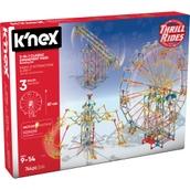 K'NEX Thrill Rides 3-In-1 Amusement Park Building Set