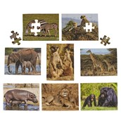 Just Jigsaws Wild Animals and their Young