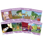 Fantail Readers - Lilac Band - Pack of 8