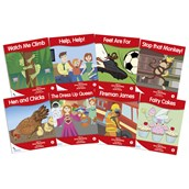 Fantail Readers - Red Band - Pack of 8
