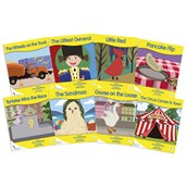 Fantail Readers - Yellow Band - Pack of 8