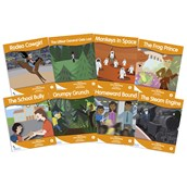 Fantail Readers - Orange Band - Pack of 8