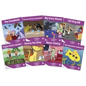 Fantail Readers - Purple Band - Pack of 8
