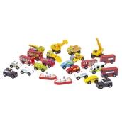Bigjigs Toys Wooden Vehicle Assortment